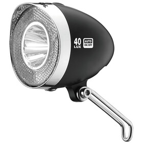 XLC LED Retro Frontlicht inkl. Reflektor black/white